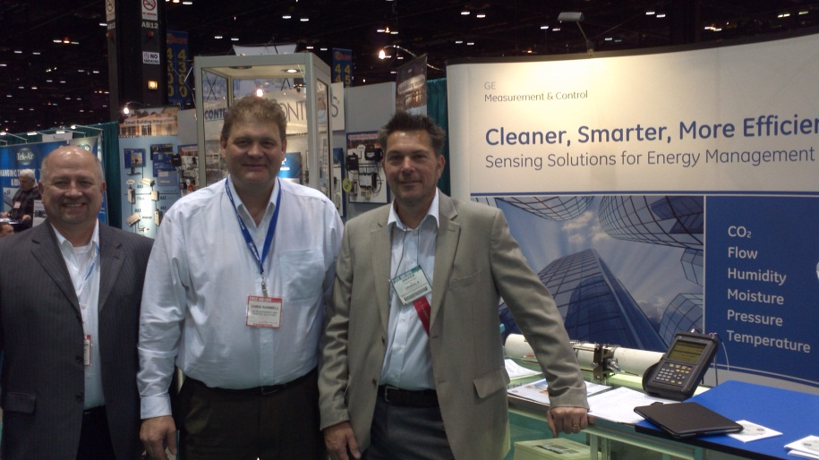 Ge Advanced Sensors At Ahr 2012 Chicago By Andrew